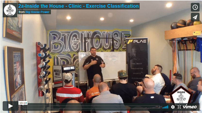 2a Inside the House – Exercise Classifications